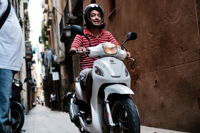 curso de fotografia urbana y street en Barcelona con Rober Tomás