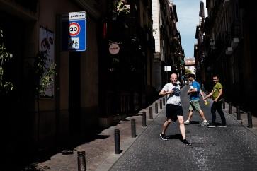 Fotos del curso de fotografía de madrid en julio 2017. Escenas urbanas