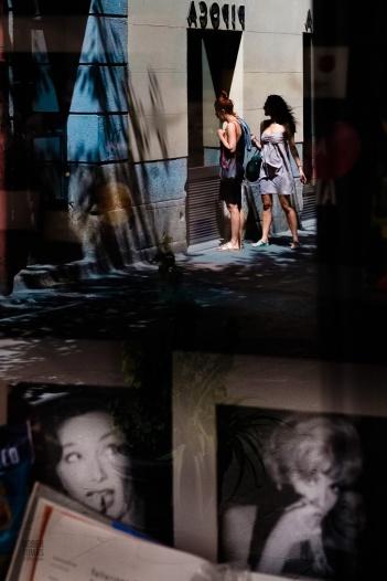 Fotos del curso de fotografía de madrid en julio 2017. Reflejos con estilo