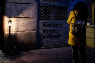 taller de fotografia de calle nocturna en Madrid con Rober tomas diciembre 2017