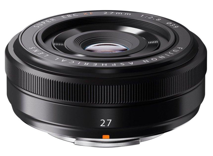 Fujinon 27mm f2.8 R objetivo pancake para Fujifilm x