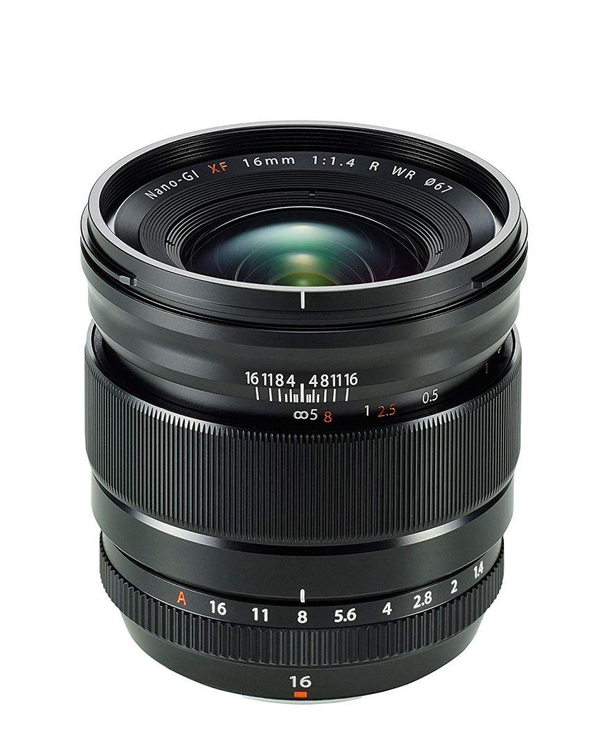 Fujinon 16mm f1.4 WR para Fujifilm X gran angular