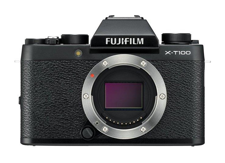 Fujifilm X-T100 cámara para principiantes y para viajes