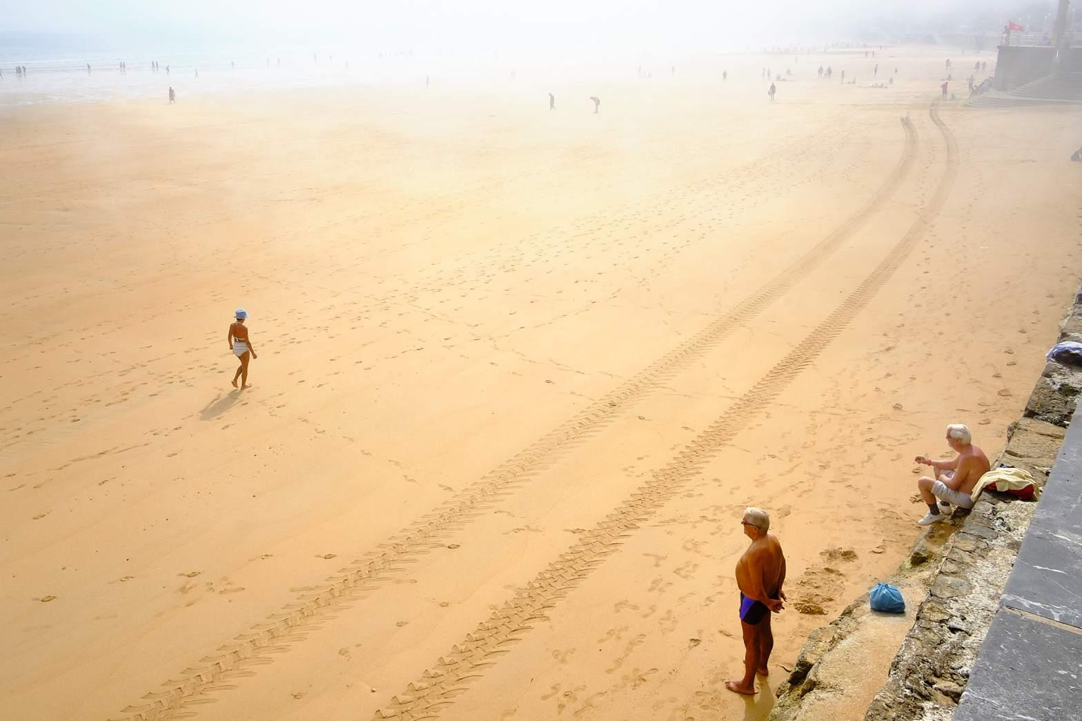 playa de Gijon por Rober Tomas