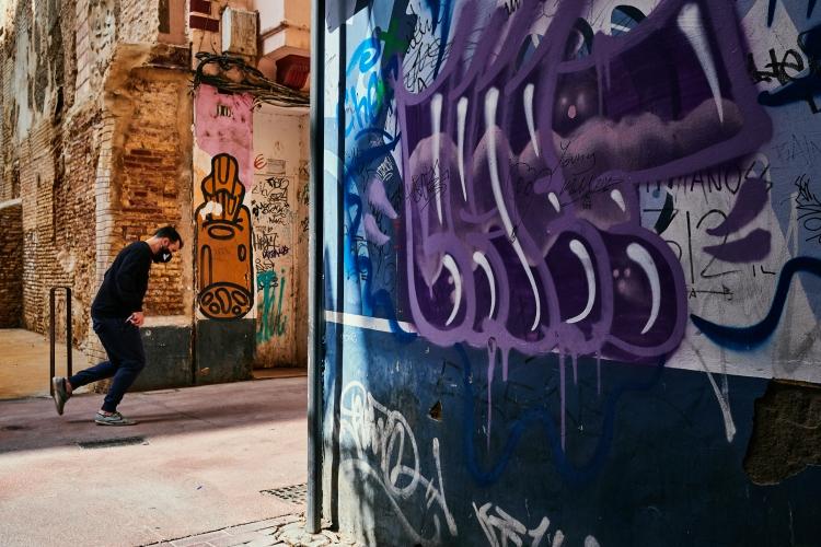Talleres de Inmersión en la Fotografia de Calle Zaragoza con Rober Tomas