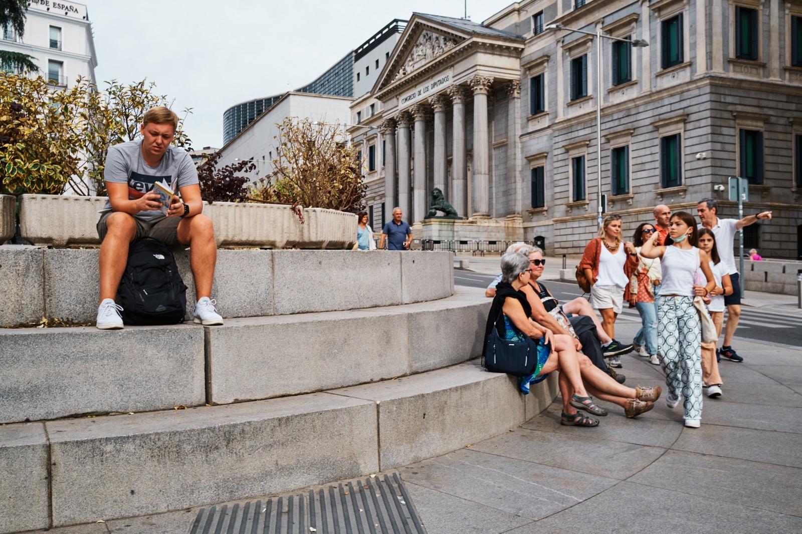 Taller de fotografía de calle en Madrid con rober tomas